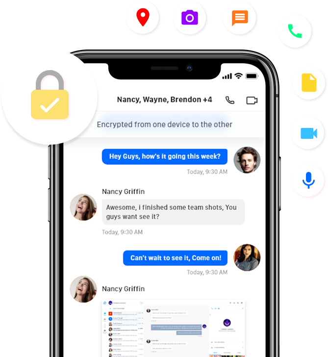 Solaborate Messenger | Secure video calling & messaging